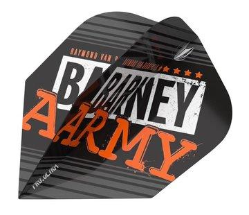 Target Darts RVB Barney Army Black Flights