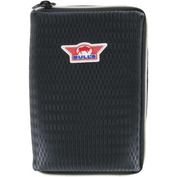 Bull's Unitas Case - Leather Black - Carbon style