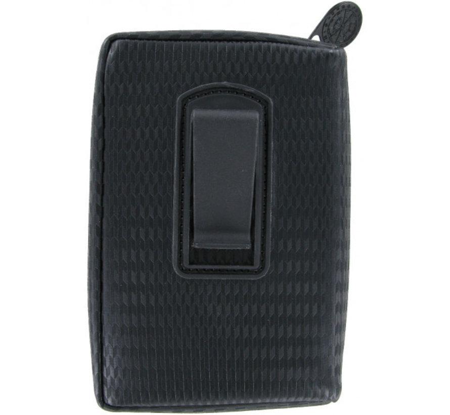 Unitas Case  - Leather Black - Carbon style