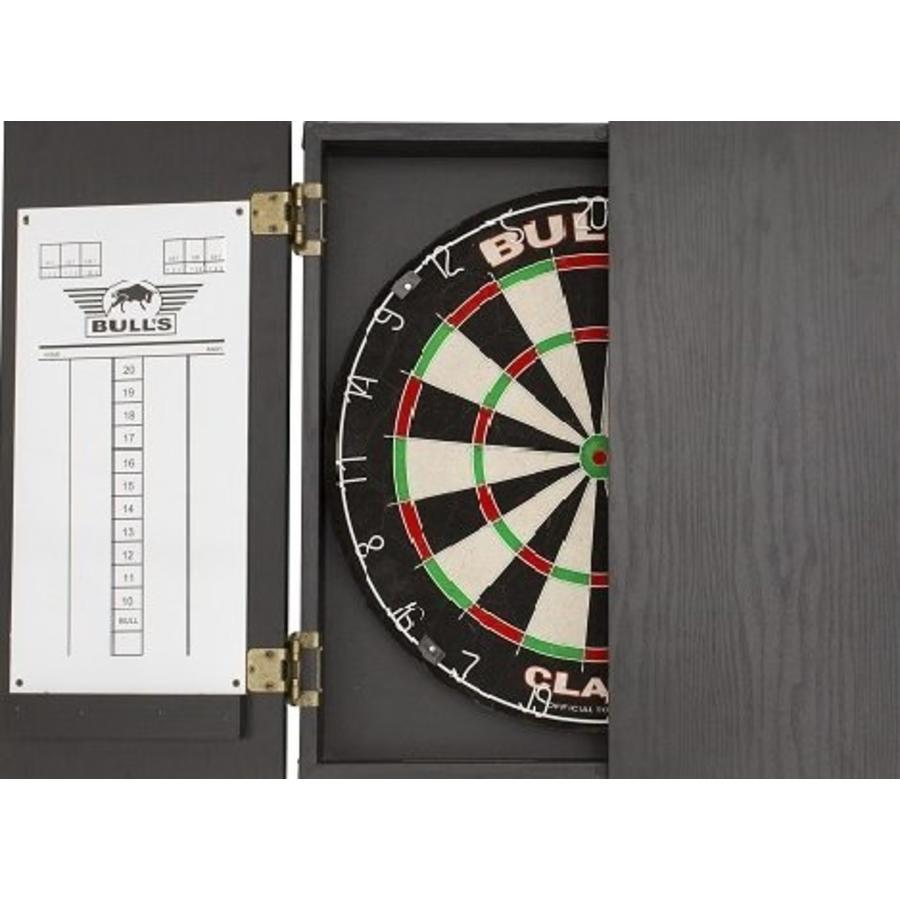 Bulls Classic Cabinet Black Dart Kabinet