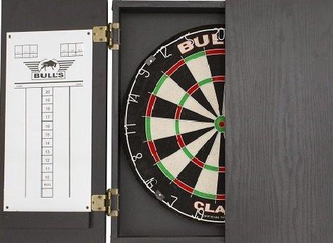 Bull's CLASSIC CABINET - Black - dart kabinet