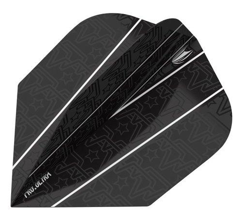 Target Darts Rob Cross Pixel Black Standaard No6 Flight