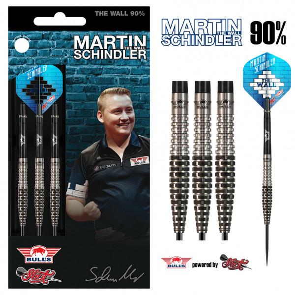 "Bull's Martin ""The Wall"" Schindler 90% Tungsten match darts"