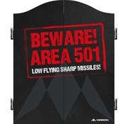Mission darts Mission Dartbord Deluxe Kabinet - Beware
