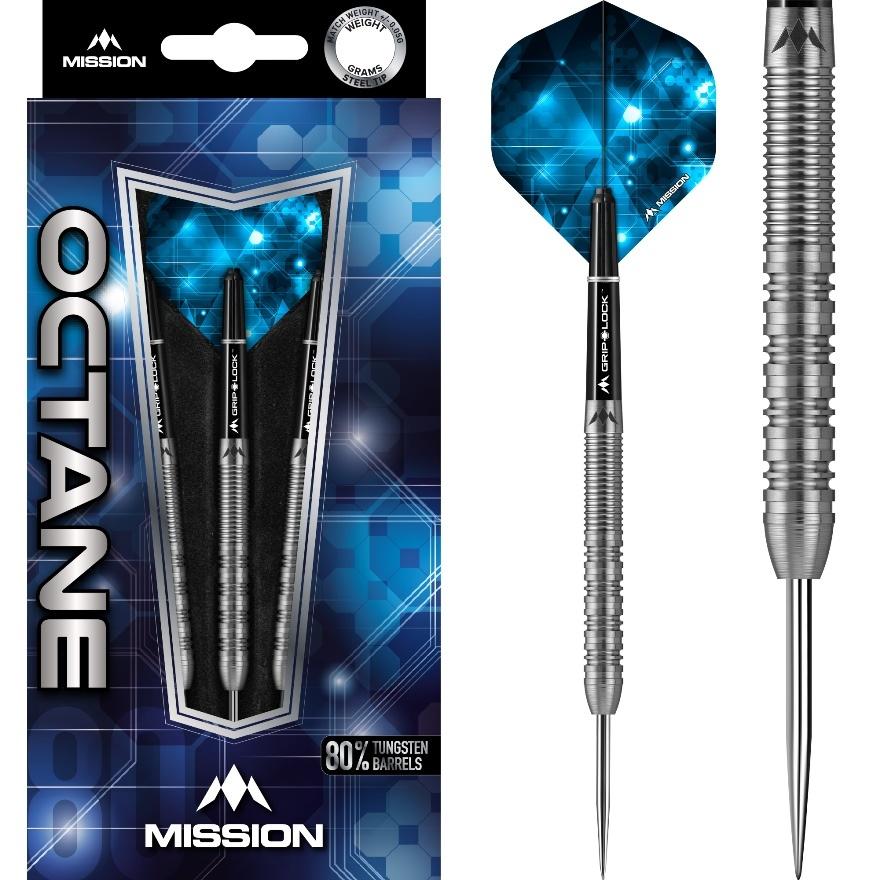 Mission darts Mission Octane M5 80% - Twin Grip