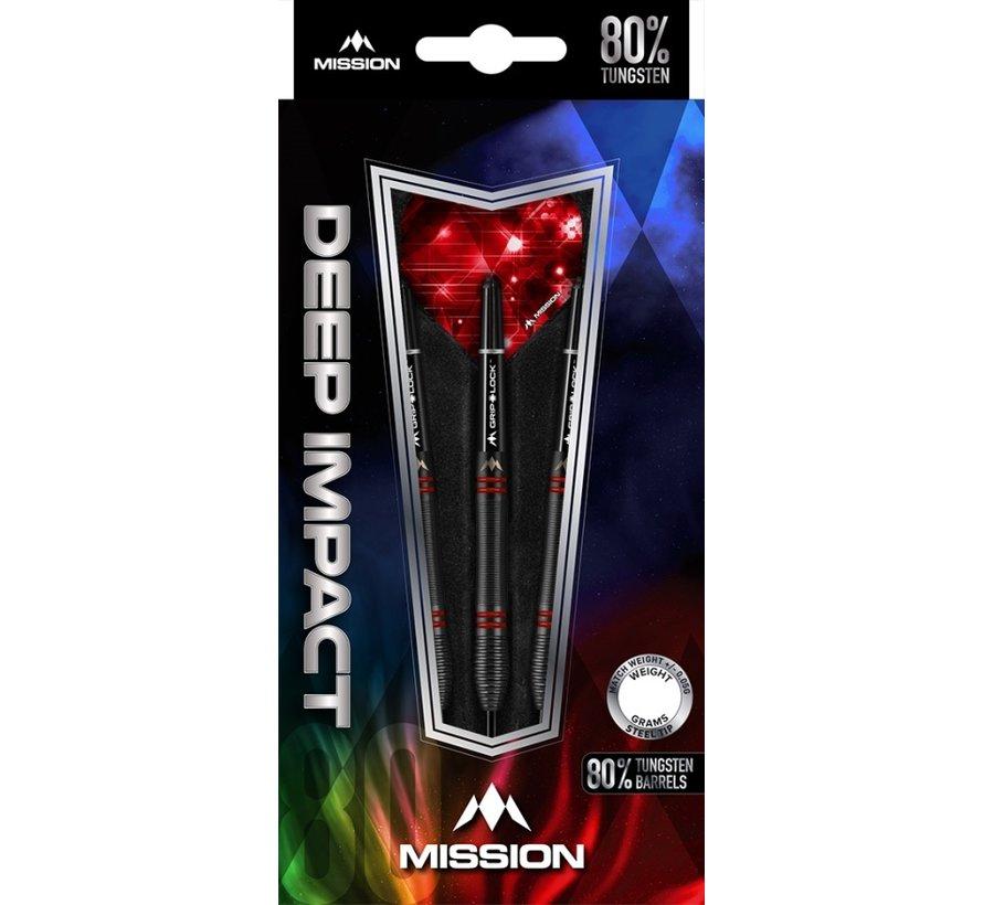 Mission Deep Impact M5 80% - Black-Red Titanium