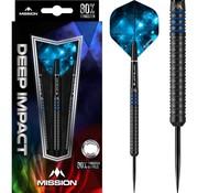 Mission darts Mission Deep Impact M1 80% - Black-Blue Titanium