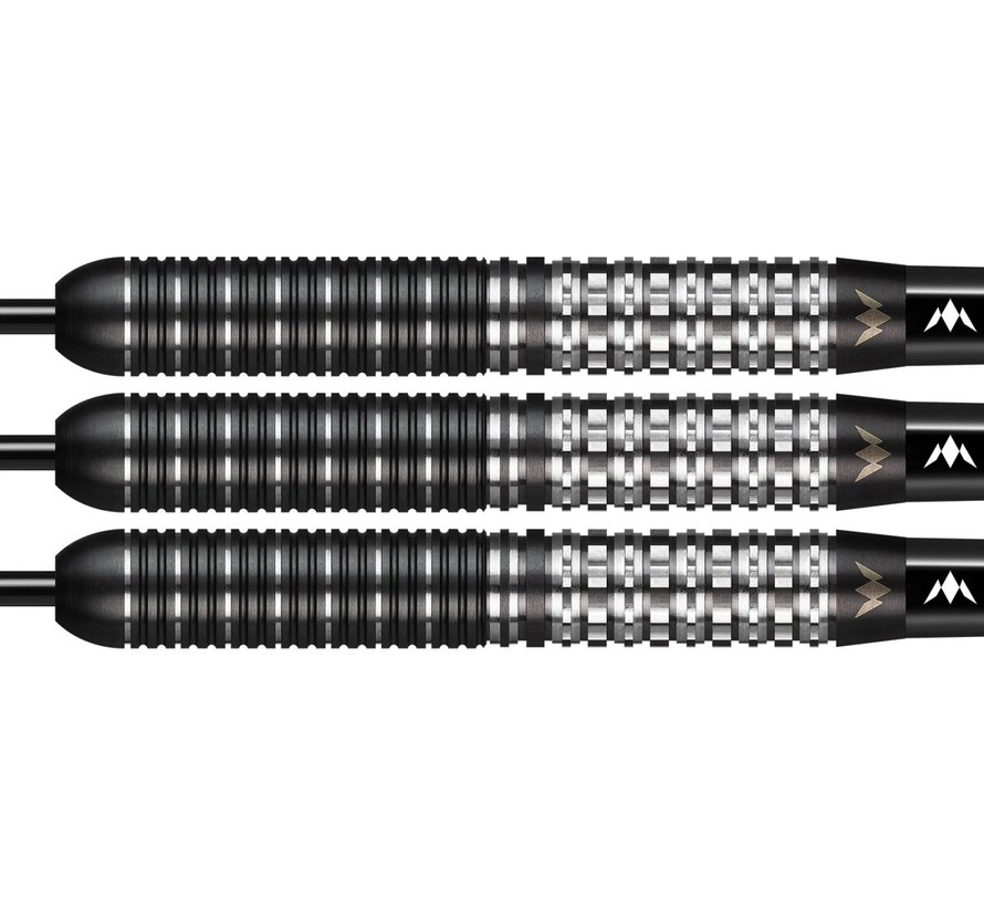 Mission Kuro Black M1 95% - Black Titanium - Rear Sabre Grip