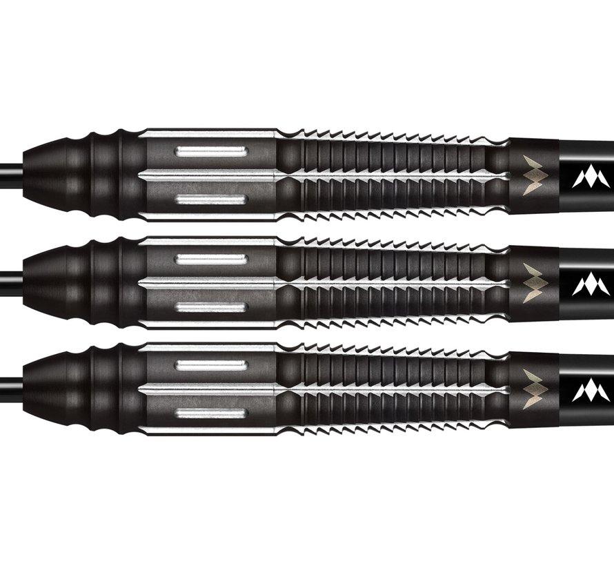 Mission Kuro Black M4 95% - Black Titanium - Rear Taper