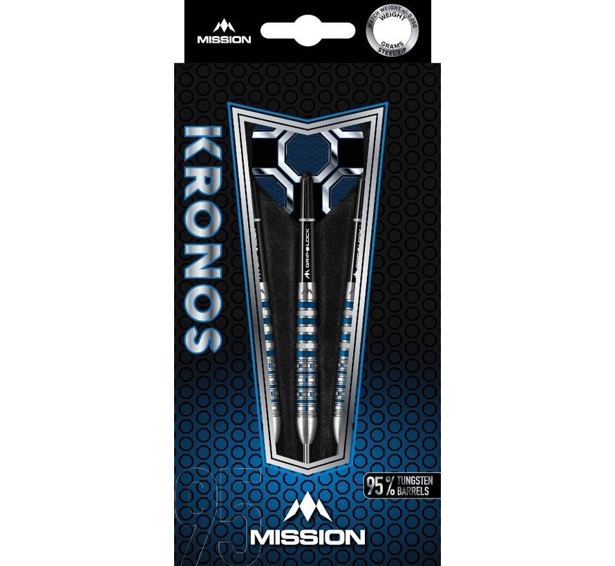 Mission Kronos Blue M3 95% - Blue Titanium - Rear Iso Grip