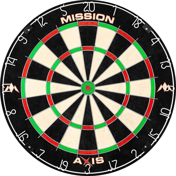 Mission Mission Axis Dartbord - Tri Wire