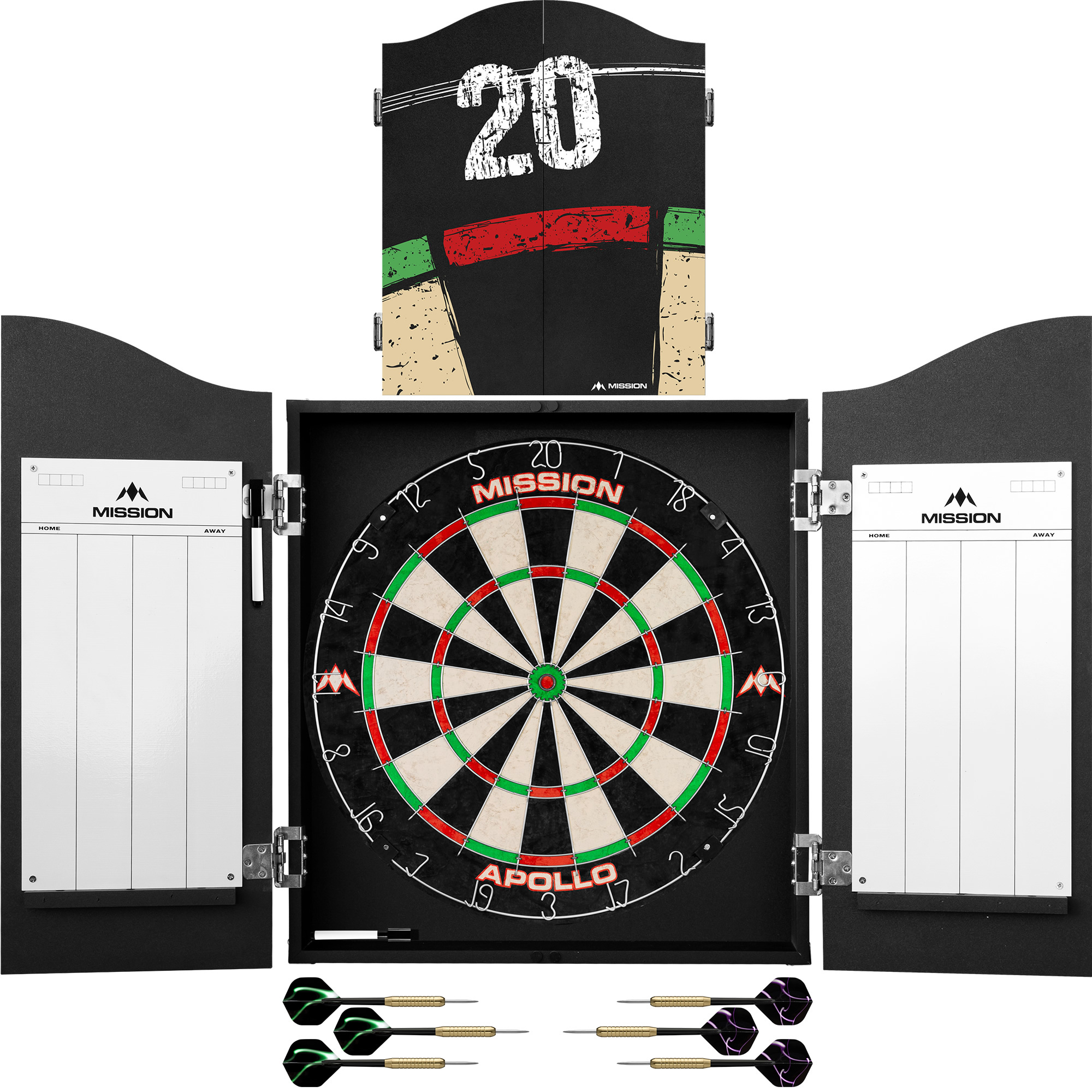 Mission Mission Home Darts Centre - Double Tops