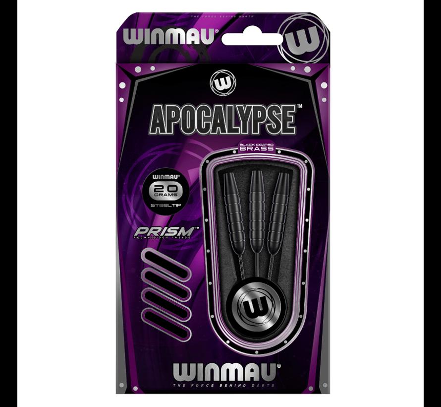 Winmau Apocalypse Brass Black Coated Brass