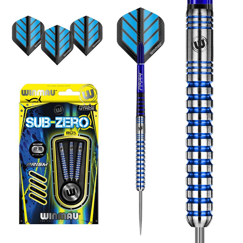 Winmau Darts Winmau Sub-Zero 80% tungsten