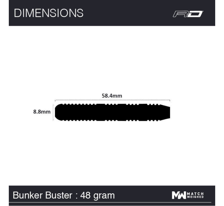 Red Dragon - 80% Tungsten - Bunker Buster