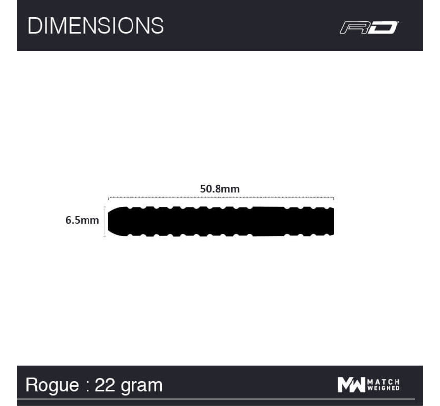 Red Dragon - 90% Tungsten - Rogue