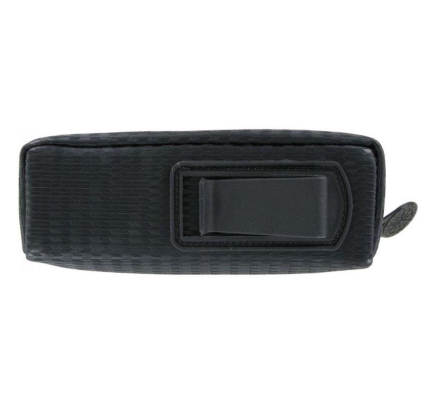 Unitas Mini Case - Leather Black - Carbon Style