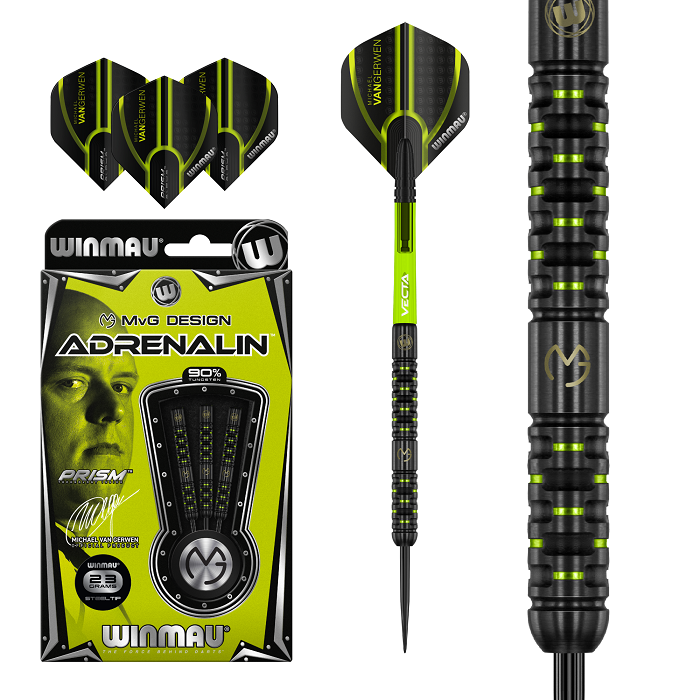 Winmau Darts Michael van Gerwen Adrenalin Soft Tip Darts