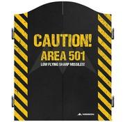 Mission darts Mission Dartbord Cabinet Area 501 Caution