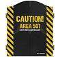 Mission Dartbord Cabinet Area 501 Caution