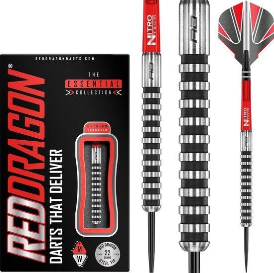 Red Dragon darts Javelin Black