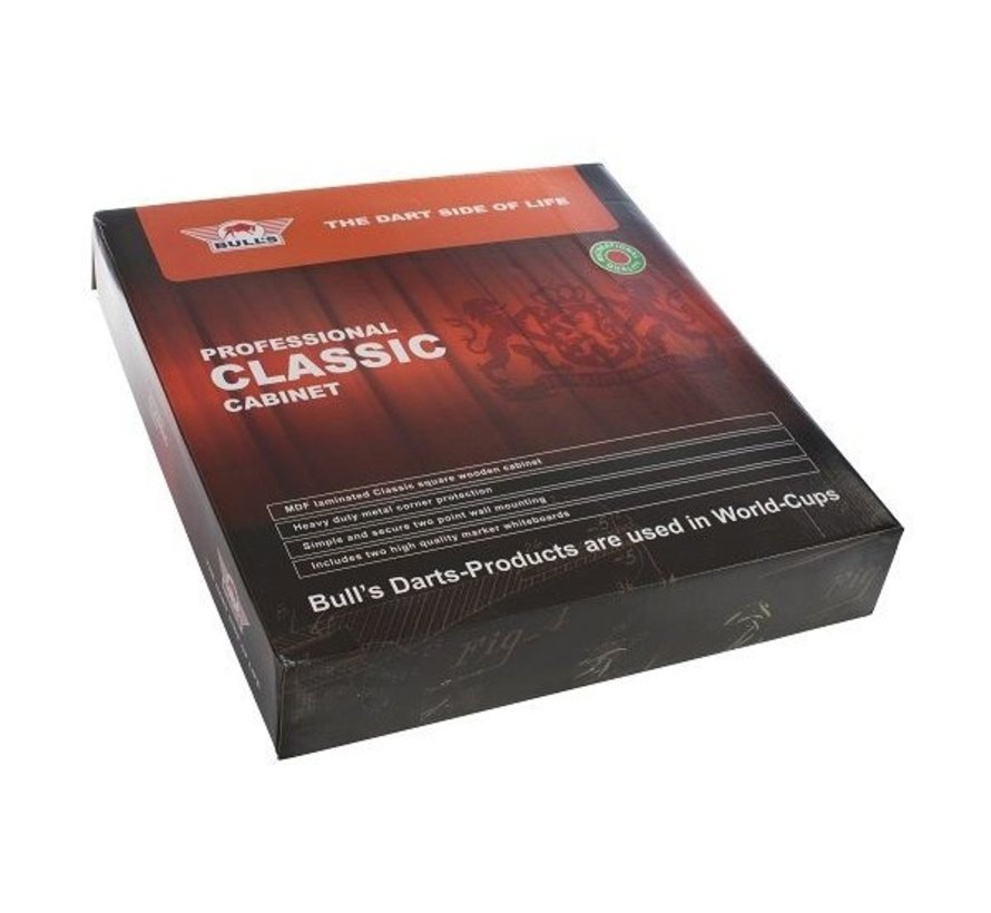 CLASSIC CABINET - Black - Dart Kabinet