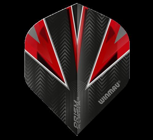 Winmau Darts Winmau Prism Alpha Flights in rood
