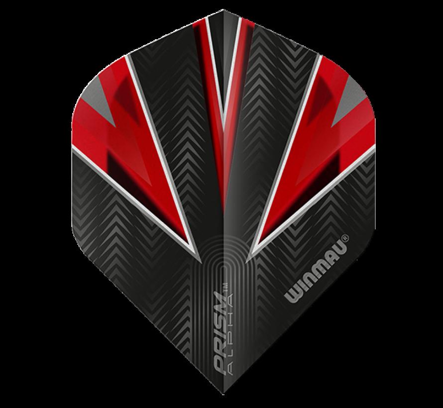 Winmau Prism Alpha Flights in rood