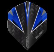 Winmau Darts Winmau Prism Alpha Flights in blauw en wit
