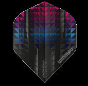 Winmau Darts Winmau Prism Alpha Flights in blauw en rood