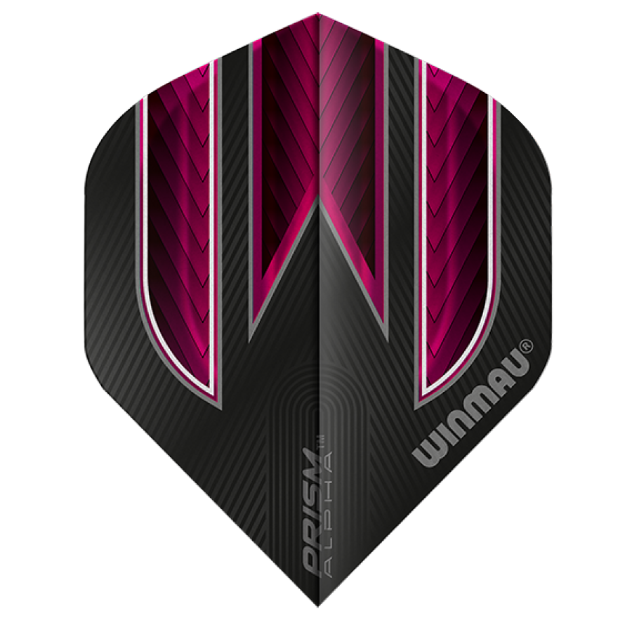 Winmau Darts Winmau Prism Alpha Flights in roze