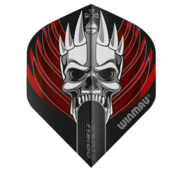Winmau Darts Winmau Prism Alpha Flights - Red Skull