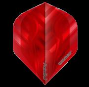 Winmau Darts Winmau Prism Zeta Flights in rood