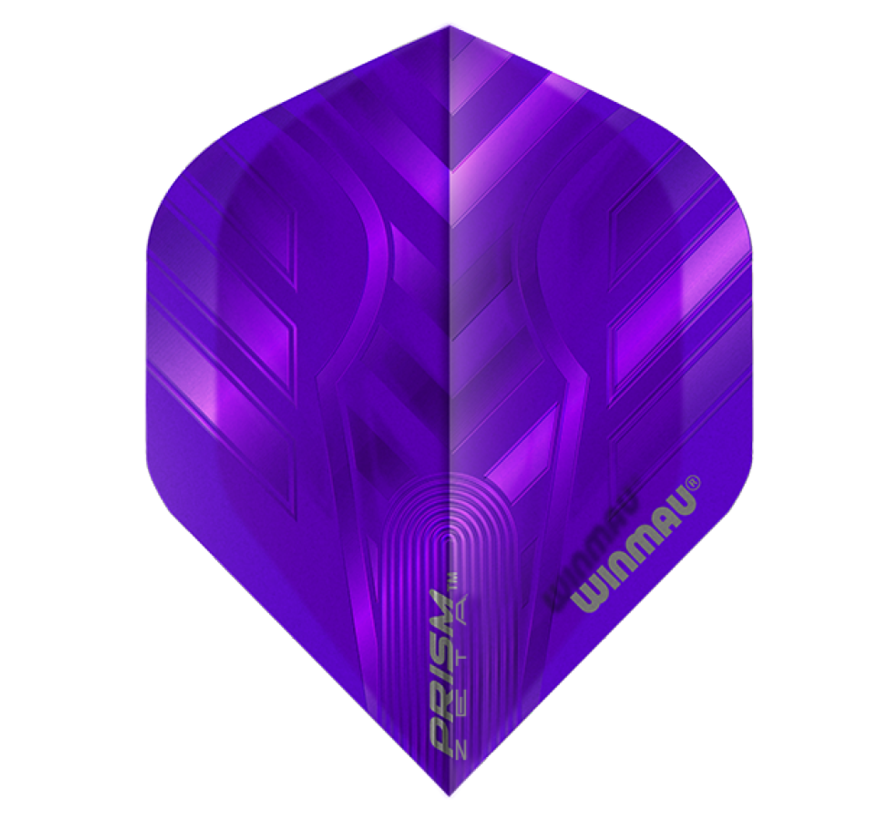 Winmau Prism Zeta Flights in paars