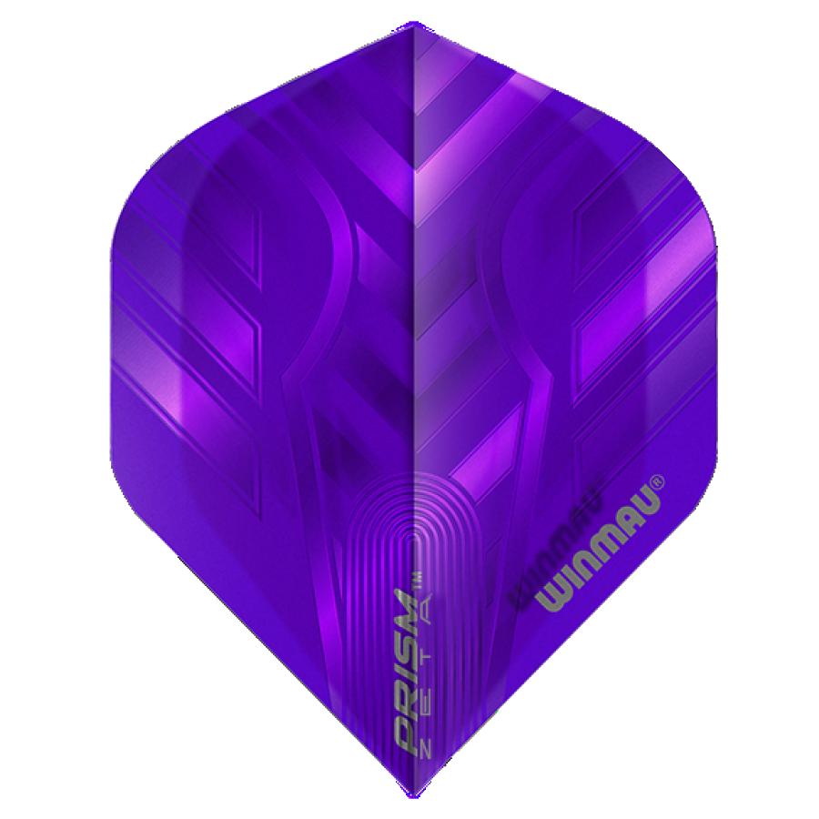 Winmau Darts Winmau Prism Zeta Flights in paars