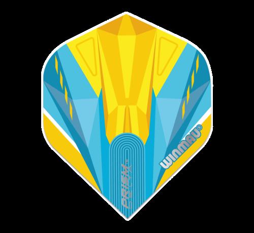 Winmau Darts Winmau Prism Delta Flights in geel en blauw