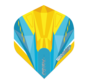 Winmau Prism Delta Flights in geel en blauw
