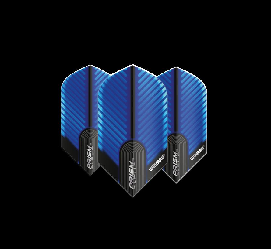Winmau Prism Alpha Flights in blue slim