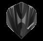 Winmau Prism Alpha Flights in zwart en grijs