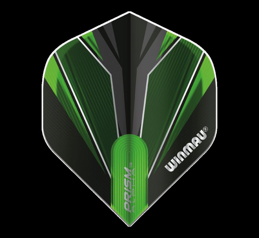 Winmau Prism Alpha Flights in groen