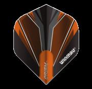 Winmau Darts Winmau Prism Alpha Flights in oranje