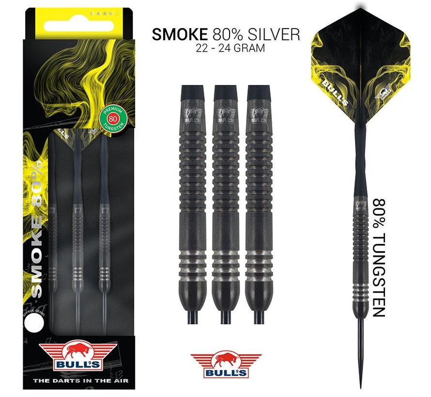 Bull's Smoke 80% Tungsten Silver