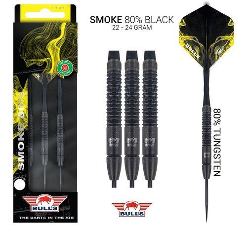 Bull's Darts: The darts in the air! Bull's Smoke 80% Tungsten Black