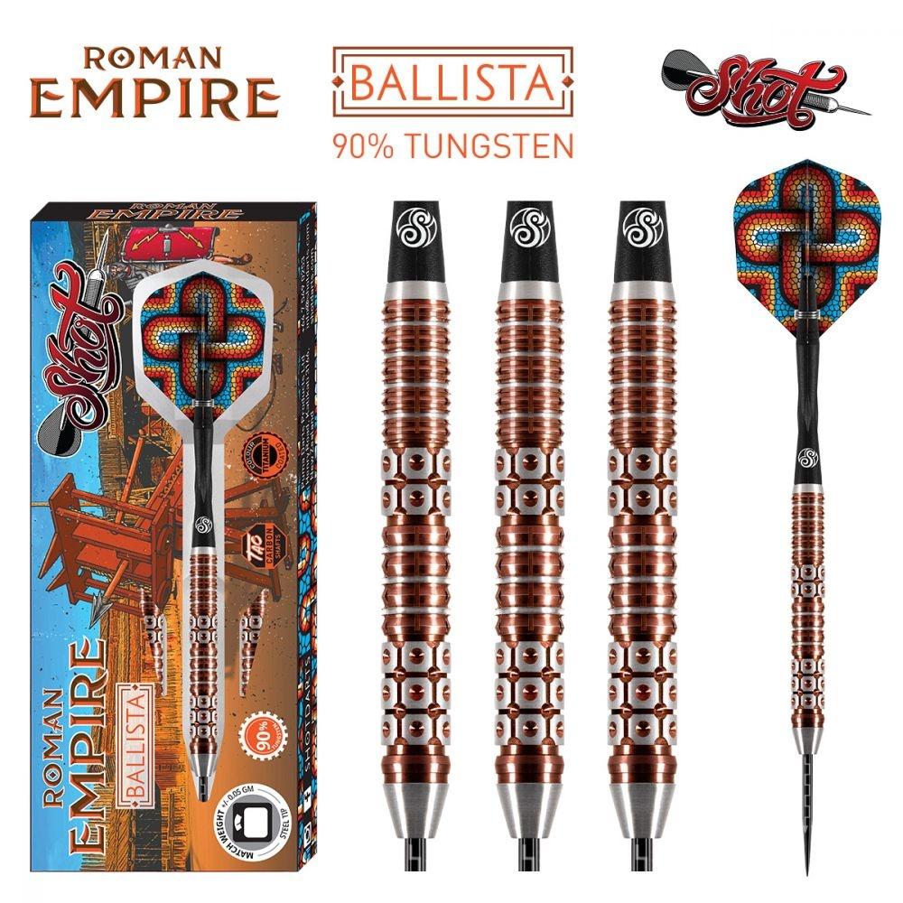 Shot! Darts Roman Empire Ballista 90% Tungsten Titanium Coated