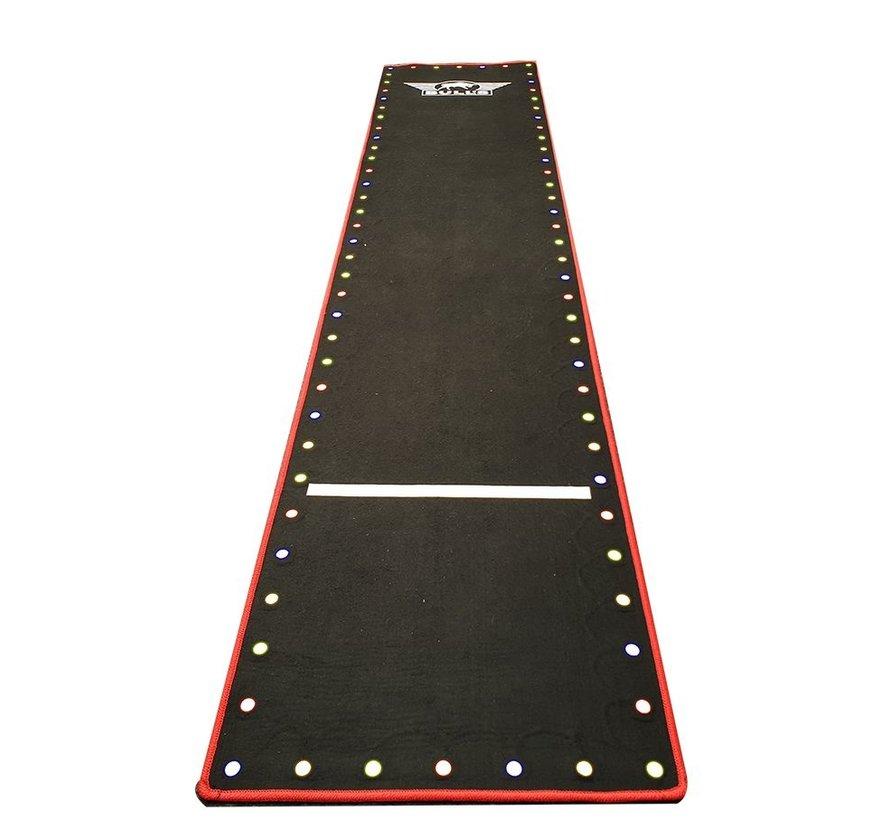 Darts Carpet mat met LED verlichting