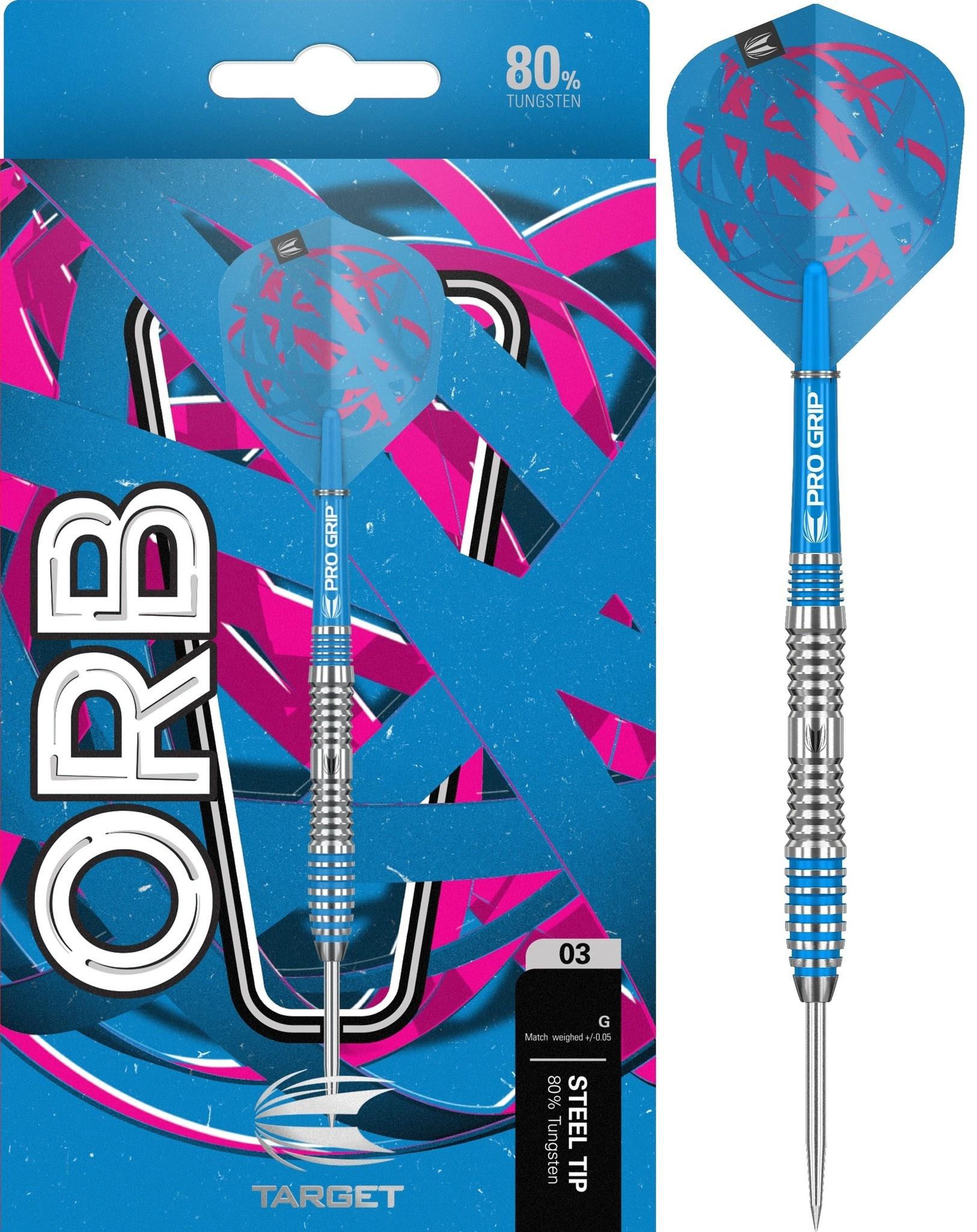 Target Darts Orb 03 80% Tungsten dartpijlen