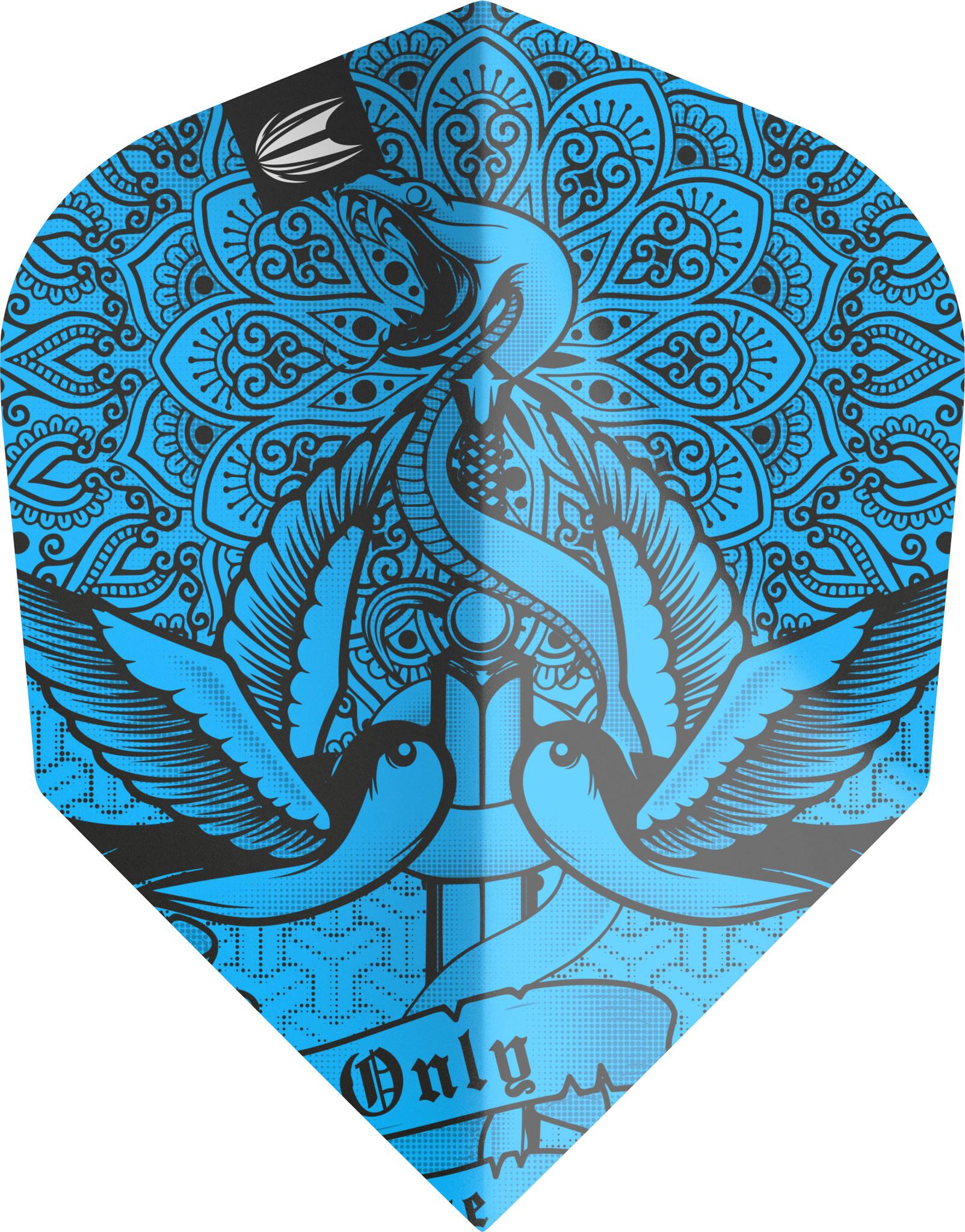 Target Darts Ink Pro.Ultra Blue No6 Flight