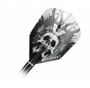 Target Darts VISION 117780 STD BLACK WINGED SKULL BAGGED