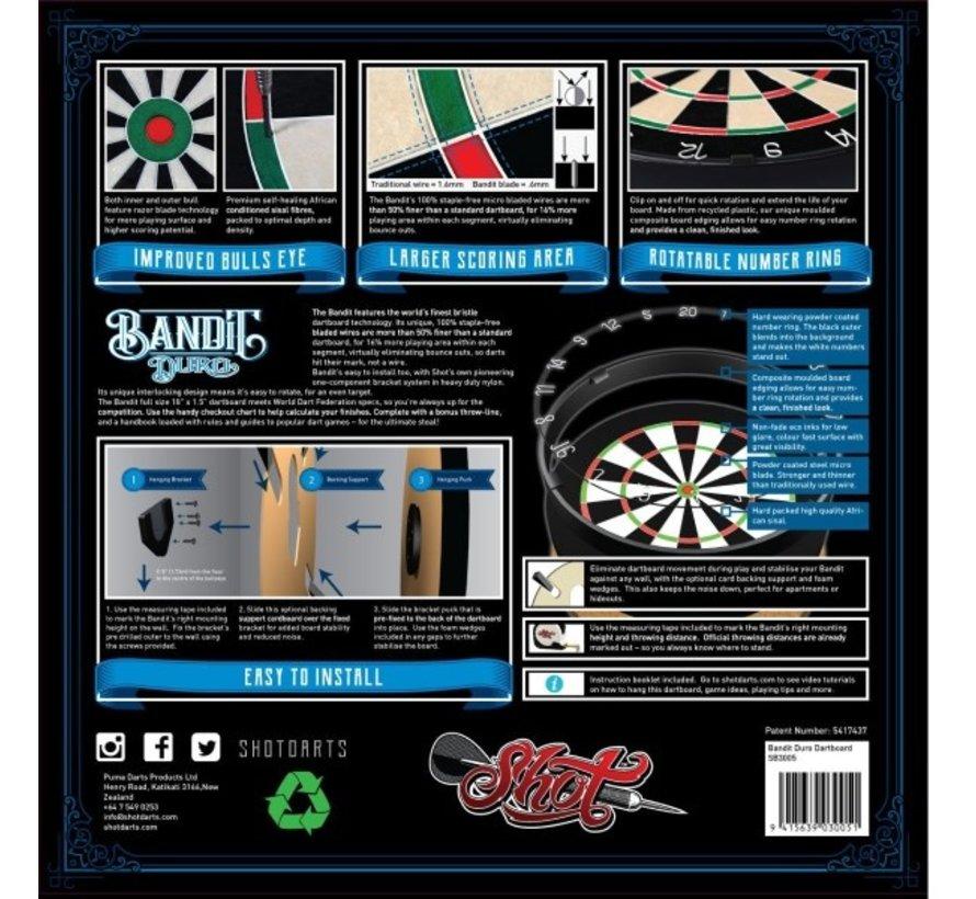 Shot! Bandit Duro Dartboard