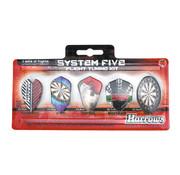 Harrows Darts Harrows System 5 Dart Flights set